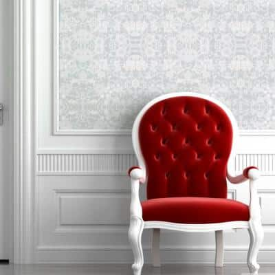 Daisy Chain Fabric Peelable Wallpaper (Covers 36 sq. ft.)