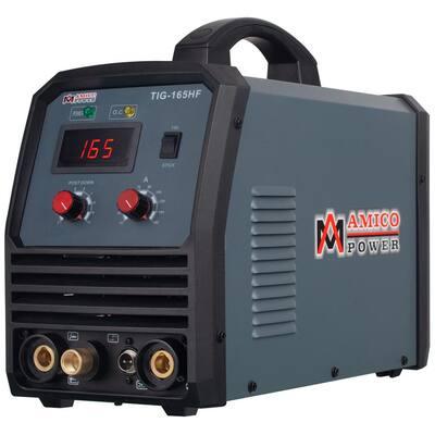 160 Amp TIG Stick Arc DC Inverter Welder with 95-Volt to 260-Volt Wide Voltage Welding, 80% Duty Cycle