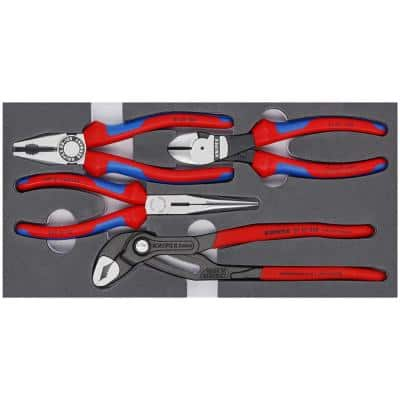 Basic Pliers Set (4-Piece)