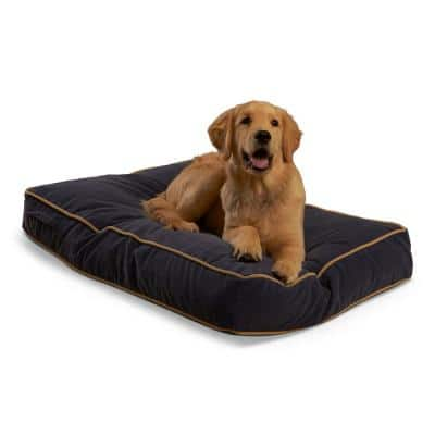Buster Small Denim Dog Bed