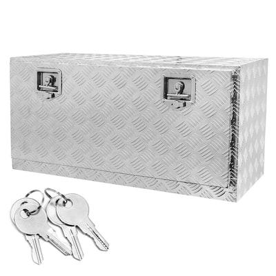 36 in Diamond Plate Aluminum Underbody Truck Tool Box