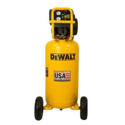 27 gal. 200 PSI Portable Vertical Electric Air Compressor