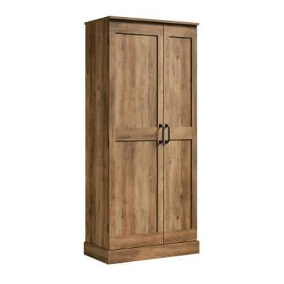 Select Rural Pine Accent Cabinet with Swing-Out Storage Door