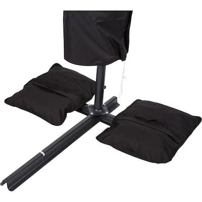 Saddlebag Style Sand Weight Bag for Patio Umbrella Base (Single Unit)
