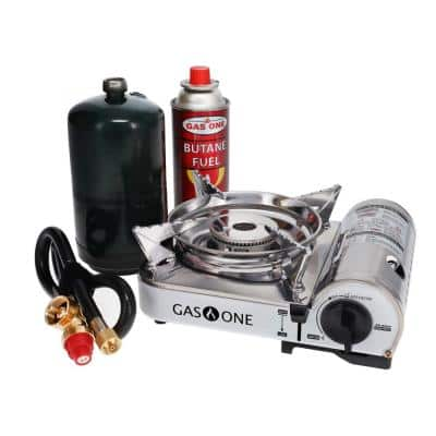 Propane or Butane Dual Fuel Mini Portable Stove