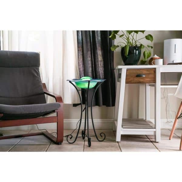 X Brand Floor Mist Fountain Aroma Diffuser With Inline Control Fm102bl The Home Depot