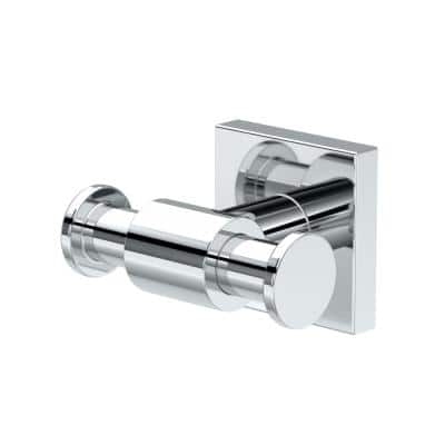 District II Double Robe Hook in Chrome