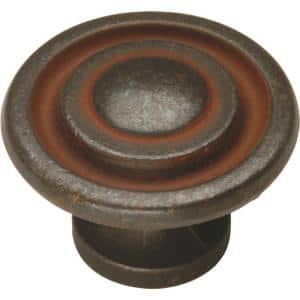 Manchester 1-3/8 in. Rustic Iron Cabinet Knob