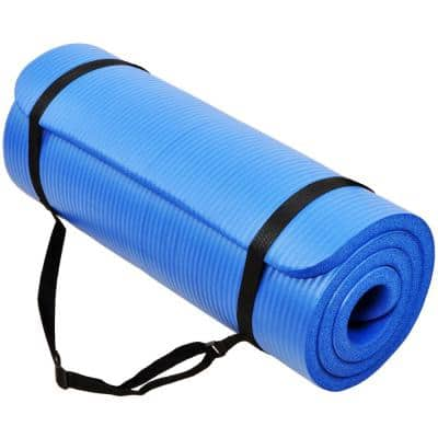 1/4 inch Yoga Mat Blue