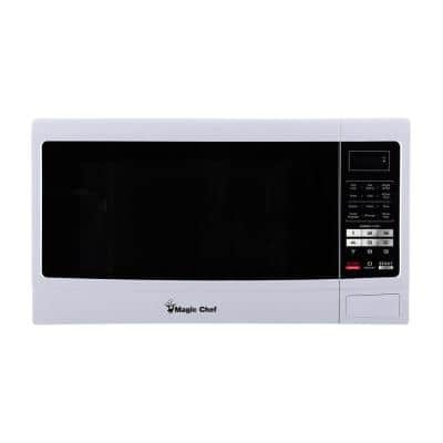 1.6 cu. ft. Countertop Microwave Oven in White