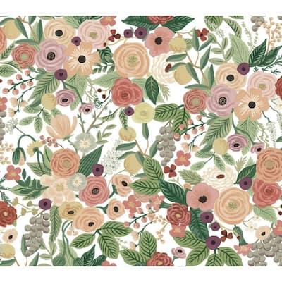 45 sq. ft. Garden Party Premium Peel and Stick Wallpaper