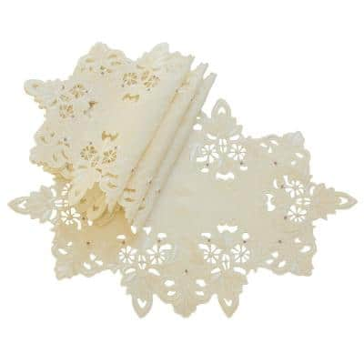 Christmas Placemats Table Linens Kitchen Linens The Home Depot