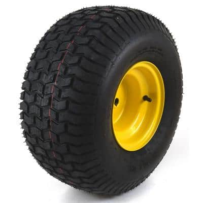 20 in. x 8 in. Rear Wheel Assembly with Turf Saver Tread for John Deere Riding Lawn Mowers