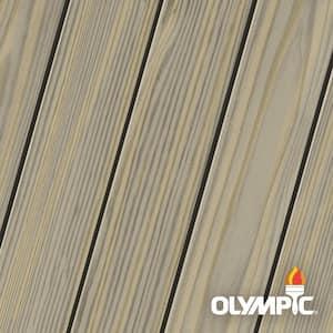 Elite 8 oz. Dark Ash Semi-Transparent Exterior Wood Stain and Sealant in One