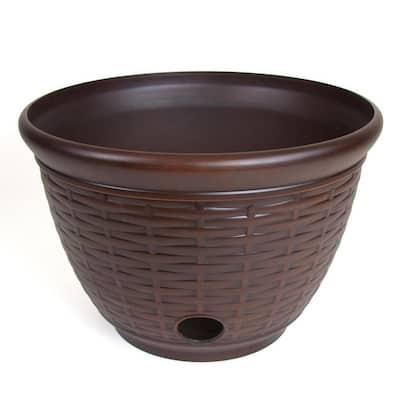 Wicker HD Resin Hose Pot