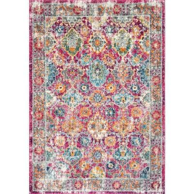 Leilani Persian Pink 8 ft. x 10 ft. Area Rug