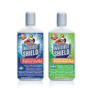 Invisible Shield Tub and Shower Glass Restoration + Protectant