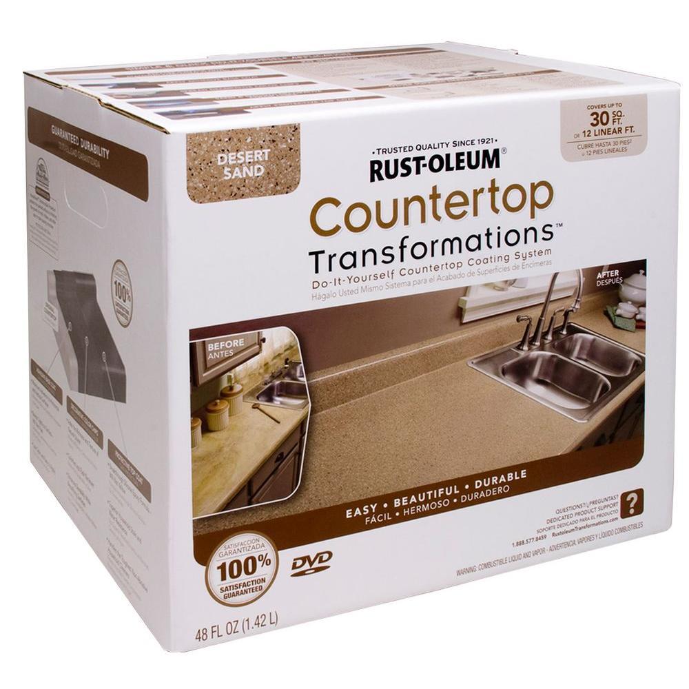 48 oz. Desert Sand Small Countertop Kit