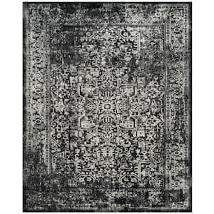 Evoke Black/Gray 8 ft. x 10 ft. Area Rug