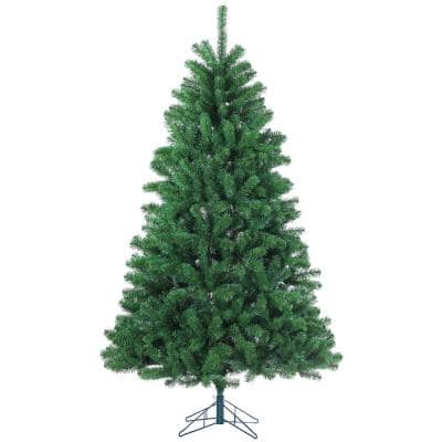 7 ft. Unlit Montana Pine Artificial Christmas Tree with 1026 Tips