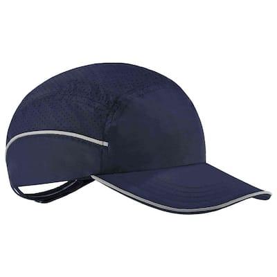 8955 Long Brim Navy Lightweight Bump Cap Hat