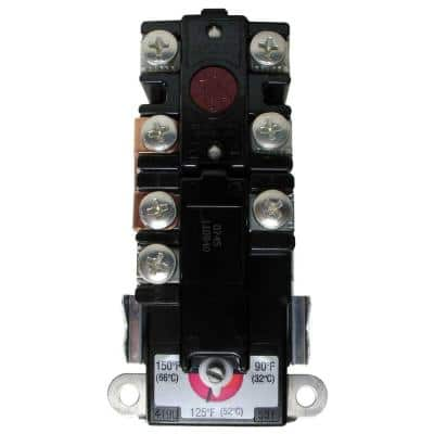 T-O-D Style Upper-Element Thermostat for Non-Simultaneous Design Residential Electric Water Heaters