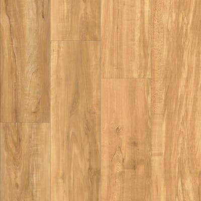 Vinyl Pro Classic Blonde Ale 7.12 in. W x 48 in. L Waterproof Luxury Vinyl Plank Flooring (23.77 sq. ft)