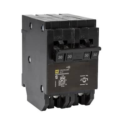 Homeline 2-30 Amp 2-Pole Quad Tandem Circuit Breaker