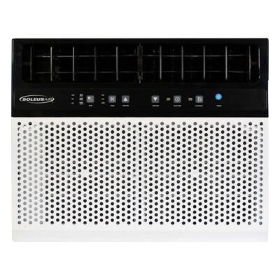 8,000 BTU 115-Volt Hybrid Window Air Conditioner with Remote White