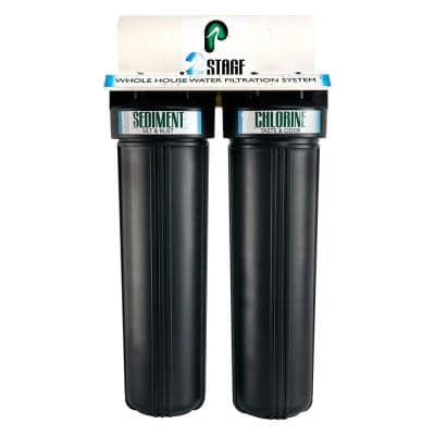 2 Stage Whole House Water Filtration System