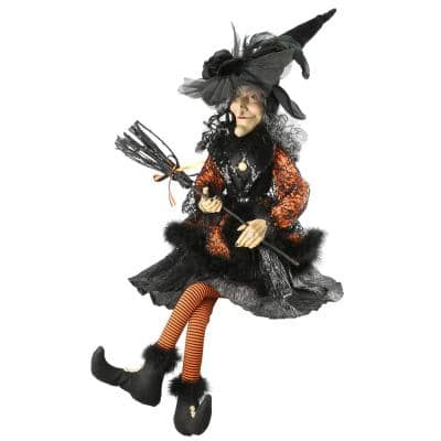 36 in. Halloween Witch