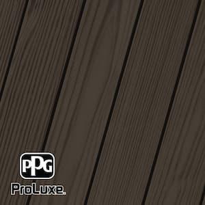 1 gal. #HDG-ST-58 Oxford Brown SRD Exterior Semi-Transparent Matte Wood Finish