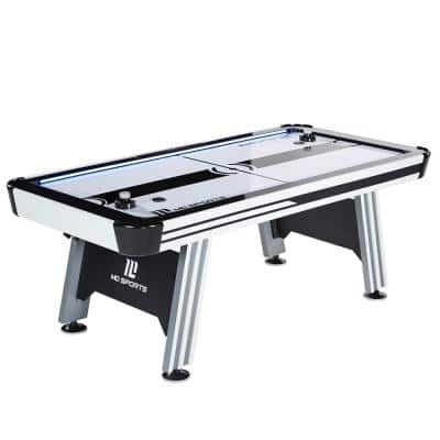84 in. Air Hockey With ES and LED Lights