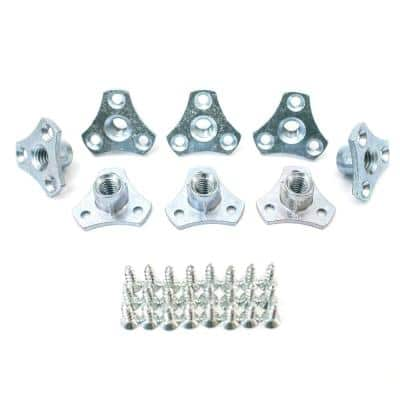 5/16 in.-18 Screw-On Tee Nut (8-Pack)