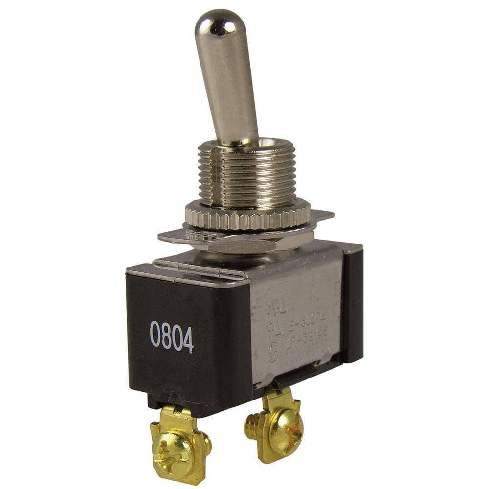Gardner Bender 20 Amp Single-Pole Toggle Switch (1-Pack)-GSW-110 - The Home  DepotThe Home Depot