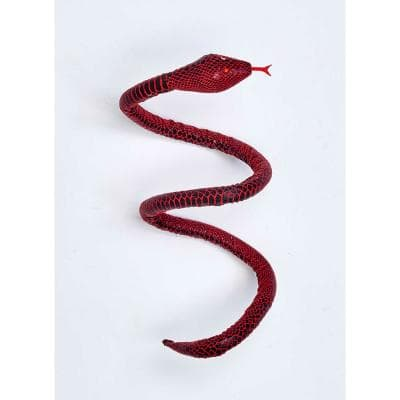 40 in. Red Snake (Set of 6)