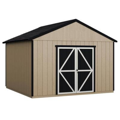 Do-it Yourself Astoria 12 ft. x 24 ft. Wooden Storage Shed with Flooring Included