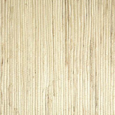 Martina Fog Grasscloth Fog Wallpaper Sample