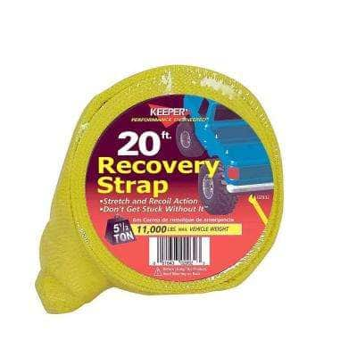 """20' x 3"""" x 22,500 lbs. Vehicle Recovery Strap"""