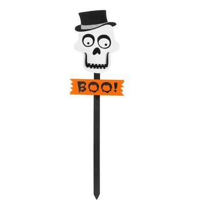 3 ft. Skull Halloween Yard Stake
