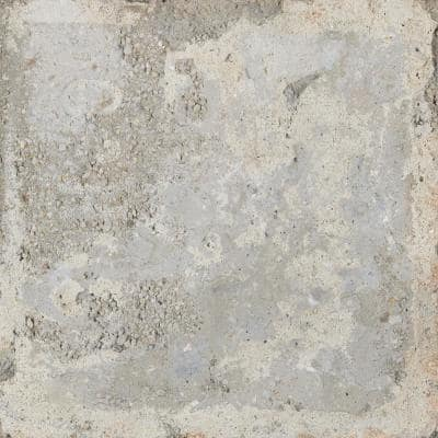 Piazza Florence Grey 8 in. x 8 in. Glazed Porcelain Floor and Wall Tile (7 sq. ft./Case)