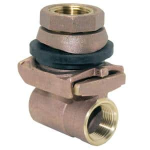 1-1/4 in. Brass Pitless Adapter