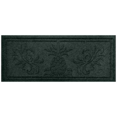Pineapple 15 in.x 36 in. Boot Tray Evergreen