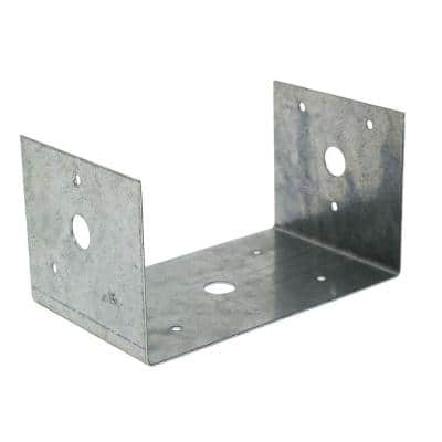 BC Galvanized Post Base for 4x6 Nominal Lumber