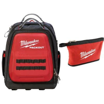 15 in. PACKOUT Backpack with Tool Bag