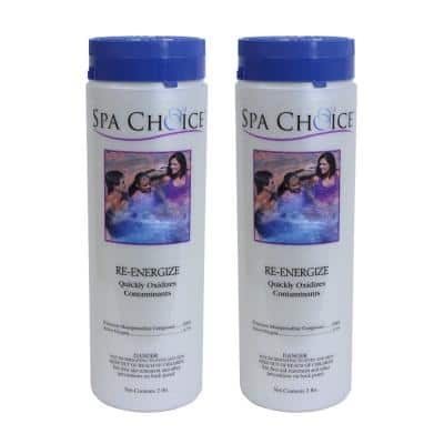 Spa and Hot Tub 2 lb. Re-Energize Non-Chlorine Shock (2-Pack)