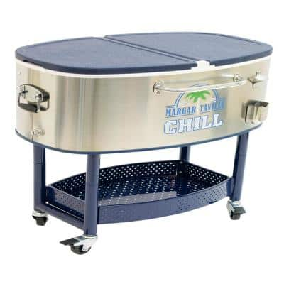 77 Qt. Chill Rolling Party Cooler