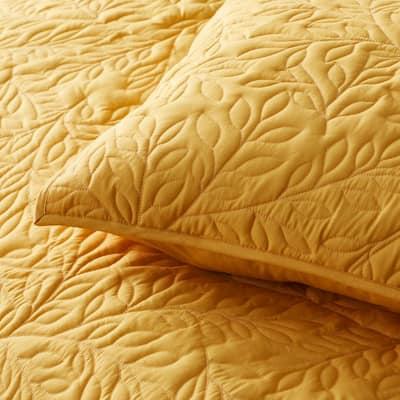 Company Cotton™ Mini Leaf Percale Sham