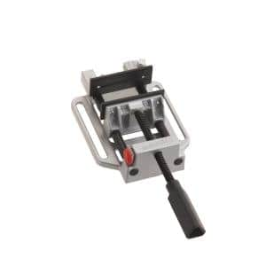 Heavy-Duty 4-Position Quick-Release Drill Press and Workbench Vise with Table Attachment
