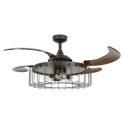 Sheridan 48 in. Oil Rubbed Bronze Ceiling Fan with-Light